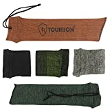 Tourbon Hunting Gun Sock 15 Inch Pistol Sleeve Knit Handgun Storage Sack (Pack of 5 Pieces )