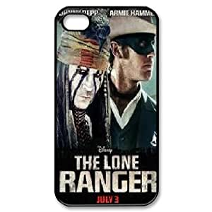 LSQDIY(R) The Lone Ranger iPhone 4,4G,4S Case Cover, Customized iPhone 4,4G,4S Cover Case The Lone Ranger