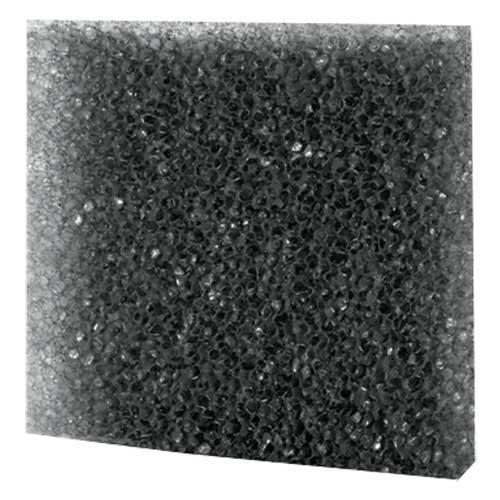 Filterschaum, grob, schwarz 50x50x2 cm