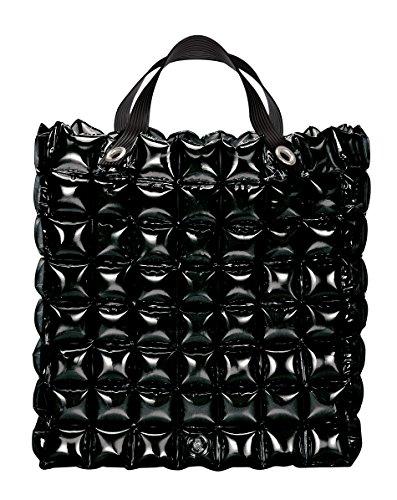 Wenko 4392206100 XL-Shopper Bubble Bag - 43 x 45 x 24 cm, schwarz schwarz