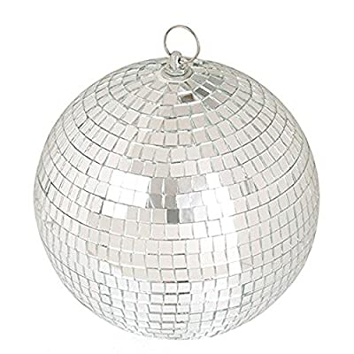 "LEEUEE 6"" Disco Mirror Ball?Silver from LEEUEE"