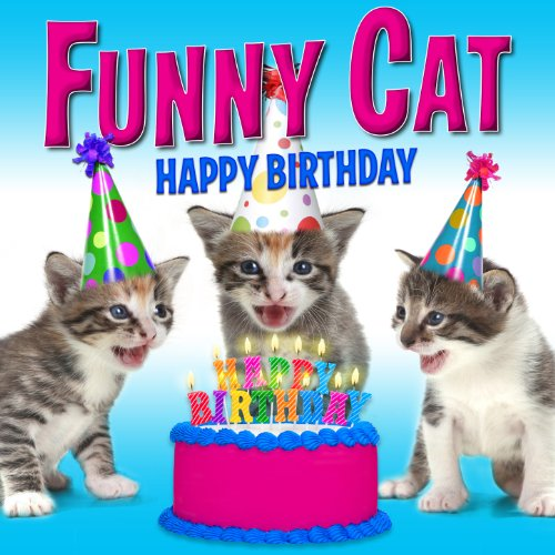 Happy Birthday (Funny Cats Singing Version) -