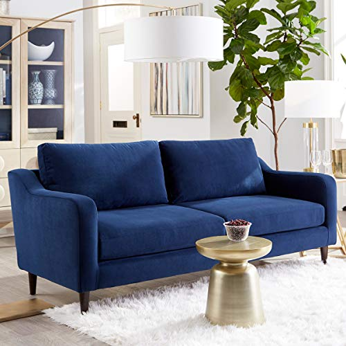 Sofab Hudson Series 3-Seat Sofa, Royal Style Design Living Room Couch with Sturdy Wood Frame Construction - 78