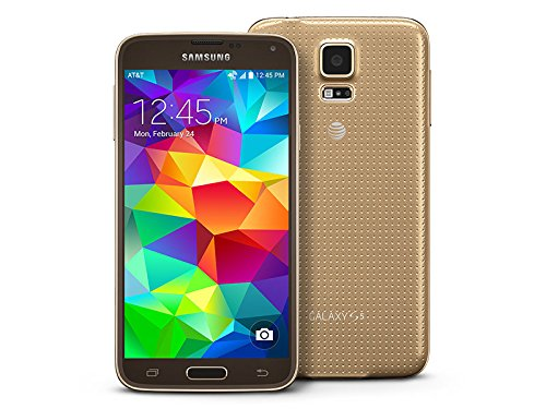 Samsung Phone Lock - Samsung Galaxy S5 G900A Factory Unlocked Cellphone, Android 16GB, Gold