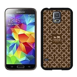 Superior Custom Design Coach 26 Black Case For Samsung Galaxy S5 I9600 G900a G900v G900p G900t G900w