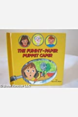 Funny-Paper Puppet Caper (Carolrhoda Mini-Mystery) Library Binding