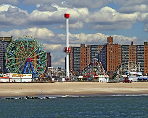 Coney Island Brooklyn New York Original Limited Art Print Photo Poster 24x36