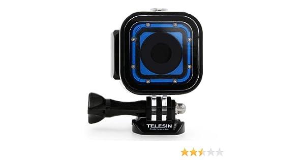 TELESIN funda protectora impermeable para buceo submarino de 60 m para la Gopro Hero 5 Session, Hero 4 Session, cámara Hero Session Accesorios ...
