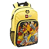 LEGO City Heritage Classic Backpack, Yellow, One Size