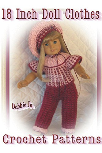 Amazon 18 Inch Doll Clothes Crochet Patterns Ebook Debbie Jo