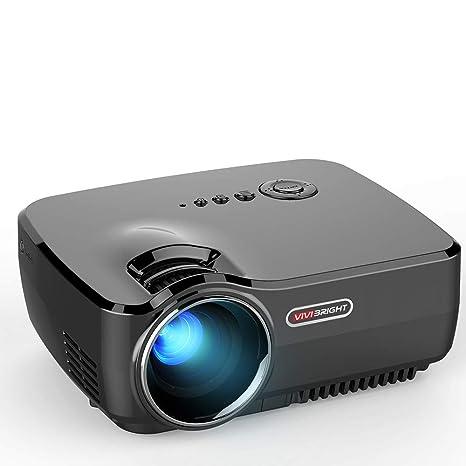 Proyector portátil Pico, proyector casero de 4 Pulgadas con HDMI y ...