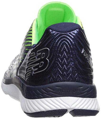 New Balance Heren Razah V1 Hardloopschoen Pigment / Energie Lime / Blauw