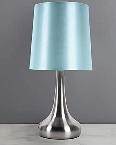 Gorgeous Rimini Touch Lamp Duck Egg Blue Amazon Co Uk Lighting