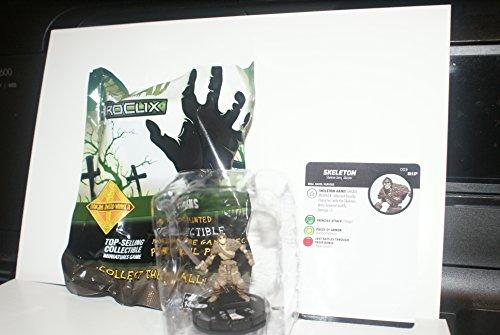 Heroclix Miniature - Undead ~ SKELETON #003 HeroClix miniature #3