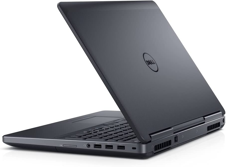 Dell Precision M7520 Intel Core i7-7920HQ X4 3.1GHz 32GB 512GB SSD, Black (Renewed)