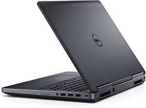 Dell Precision M7520 Intel Core i7-7700HQ X4 2.8GHz 64GB 512GB SSD, Black (Certified Refurbished)