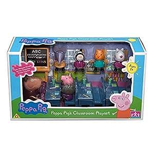 Peppa Pig set de juego Aula con 7 cifras