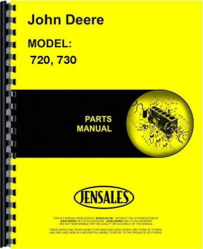 John Deere 720 730 Gas & LP Tractor Parts Manual (JD-P-PC530)