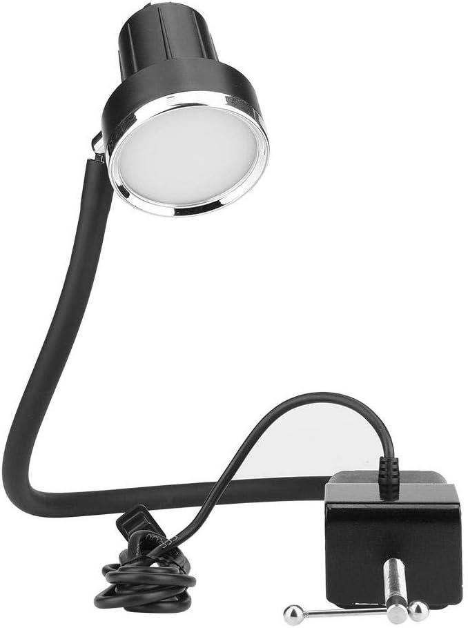 Hilitand - Luz de máquina de coser de LED, TD-56 5 W, graduación industrial 30 LED, lámpara de trabajo para máquina de coser, EU Plug