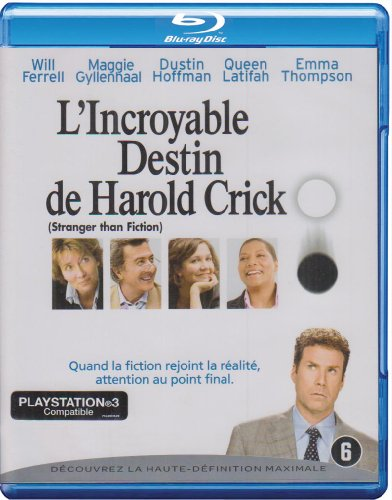 L'incroyable destin de Harold Crick [Blu-ray] [Import belge]