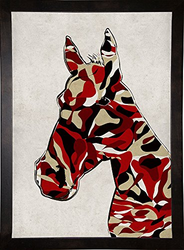 Frame USA Camouflage Horse-ANGCER136730 Print