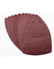 25 hojas de lija con velcro, 105 x 152 mm, grano 80, para lijadora Bosch Prio, Ventaro
