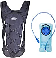 Pinty Premium Hydration Backpack Pack with 2 Liter Water Bladder for Hiking Biking Climbing and Outdoor Activities 1 Set