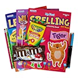 My First Coloring and Activity Book Preschool Graduation Gift Set Includes 3 Workbooks, Pencils, Markers, Crayons & Candy