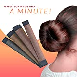 Hair Bun Maker French Twist Hair Fold Wrap Snap