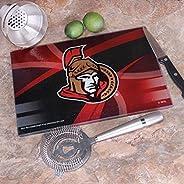 "Memory Company NHL Ottawa Senators 8"" X 11.75"" Carbon Fiber Cutting Board, One Size,"