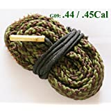 New Bore Snake Cleaning Boresnake Shotgun Pistol Barrel .44 Cal .45 Caliber Cleaner Kit