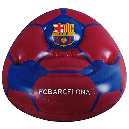 Football Gifts - Fc Barcelona Men's Inflatable Chair by Football Gifts - Fc Barcelona