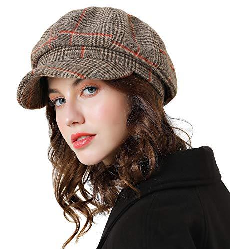 ladies caps tweed - 9