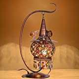 Super PP European-style table lamp retro bedroom bedside Mediterranean lamp warm bohemian lamps LO118313PY