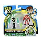 Ben 10 Alien Creation Figures 2 Pack (Diamondhead, Overflow), Multi