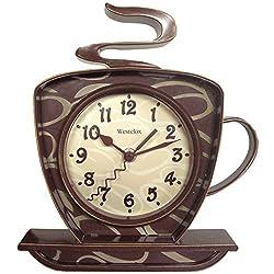 Westclox 32038 Coffee Time 3-D Wall Clock