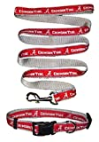 Pets First Alabama Crimson Tide Nylon Collar and Matching Leash for Pets (NCAA Official by Size Large