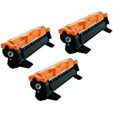 Kit 3x Toner Compatível para Brother DCP1617NW DCP1612W HL1210W HL1212W HL1202 HL1110 HL1210 DCP1617