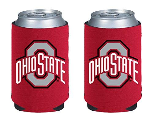 NCAA Ohio State Buckeyes Magnetic Kolder Kaddy, 2-Pack, Scarlet -