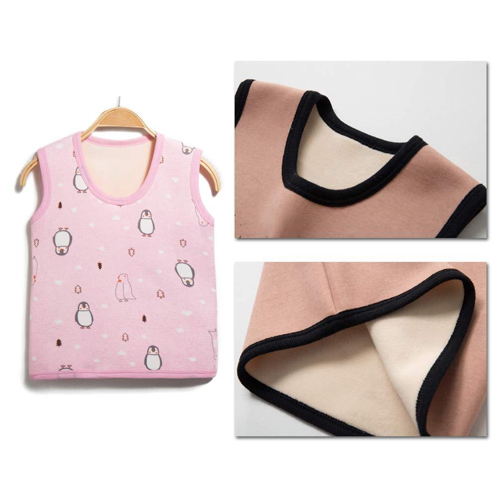 Infant Girls Boys Round Neck Undercoat BOZEVON Unisex Newborn Baby Vest