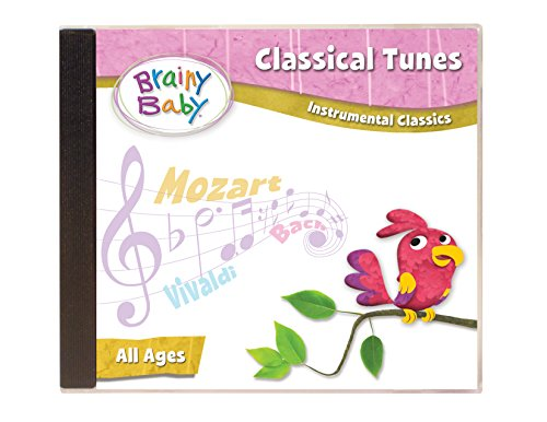Brainy Baby Classical Music CD for Children Instrumental Classics Deluxe Edition
