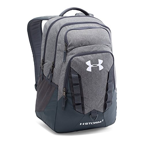 Under Armour Storm Recruit Backpack, Graphite /White,