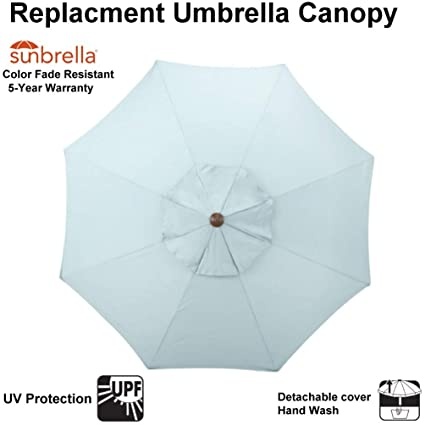 Amazoncom Sunbrella Fabric Replacement Canopy Only For 9 Ft 8