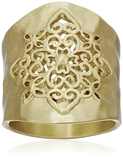 Amazon Collection C5019V 6 Parent Gold Tone Filigree