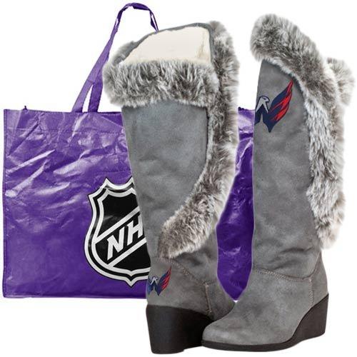 Les Chaussures De Cuce Des Femmes De Washington Capitals Bottes De Supporteur (9)