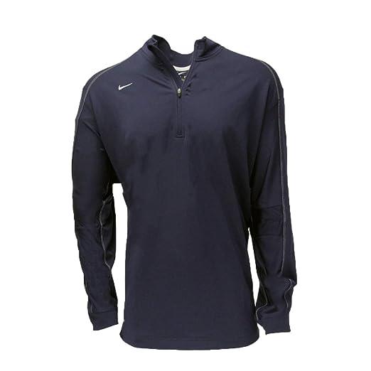 2b4240424be2d Amazon.com  Nike Men s Dri-FIT Half Zip Long Sleeve Training Top ...