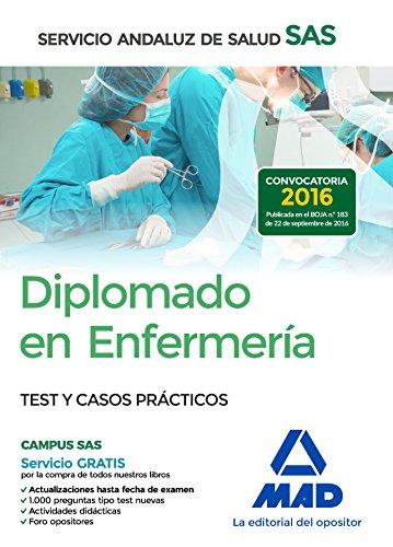 Diplomado en Enfermería del Servicio Andaluz de Salud. Test y casos prácticos