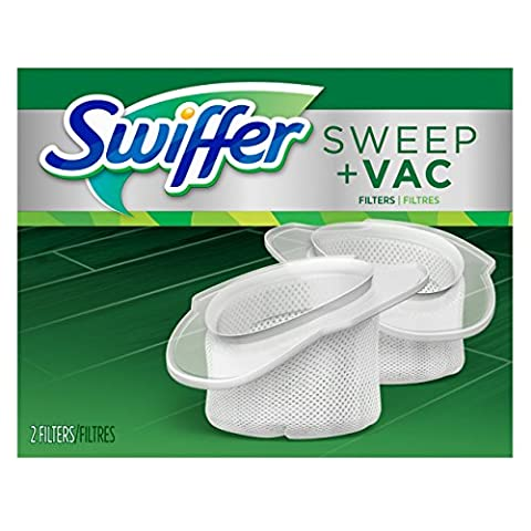 Swiffer Sweep and Vac Vacuum Replacement Filters, 2 Count (Pack of 8) - Vac Vacuum Cleaner