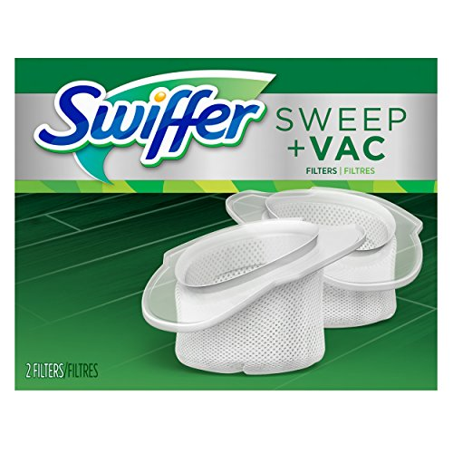 Swiffer Sweep and Vac Vacuum Replacement Filters, 2 Count...