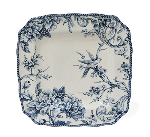 222 Fifth Adelaide Blue 16-piece Dinnerware Set, Service for 4 by 222 Fifth (Image #2)